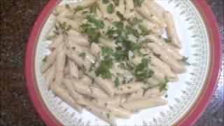 Garlic & Pepper White Pasta Recipe (Tamil)