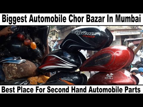 Automobile Chor Bazar | Explore two wheeler parts | Best place to buy vehicle spare parts | Mumbai