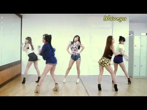 開始線上練舞:ICE CREAM(WAVEYA舞蹈版)-HYUNA | 最新上架MV舞蹈影片