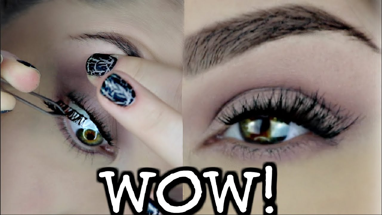 Applying Falsefake Eyelashes Under Your Real Lashes Does It Work