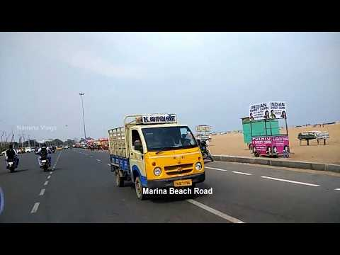 OMR to Marina Beach Road Trip (Chennai City Road Trip in Two