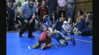 8 year old wrestler kid stevo poulin kicks butt on the wrestling mat
