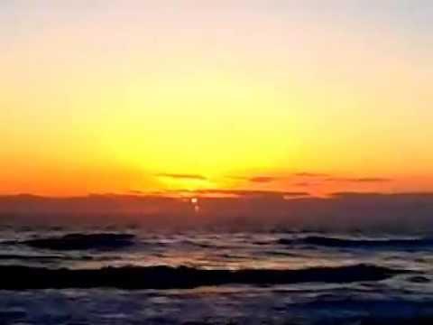 sunrise in cape canaveral florida