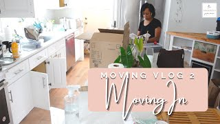 Finally Moving In! | Unpacking & Getting Stuff Out of Boxes