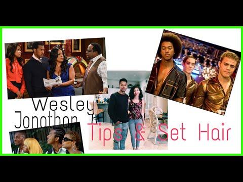 Wesley Jonathan on Tips & Set Hair  Lalas Choice