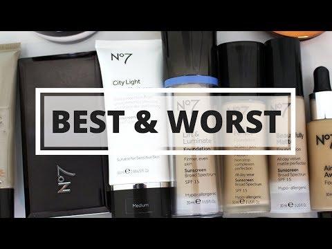 BEST & WORST Boots No7 Makeup 2017