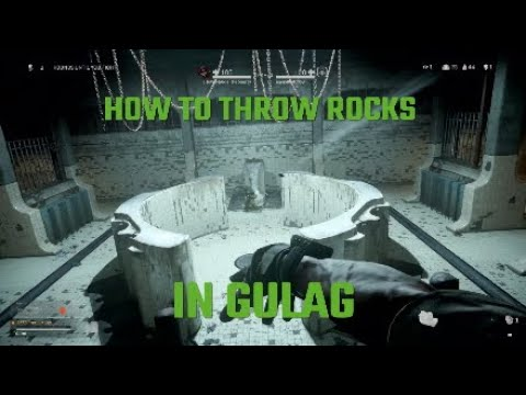 How To Throw Rocks In Gulag Call Of Duty Modern Warfare Warzone