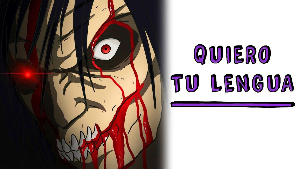 Quiero tu lengua 👅 Historia de Terror Draw My Life