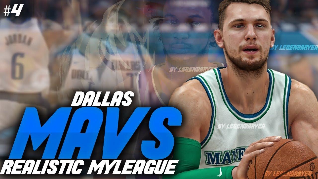 LUKA DOMINATES IN EPIC COMEBACK! NBA 2K19 DALLAS MAVS REALISTIC MYGM #4