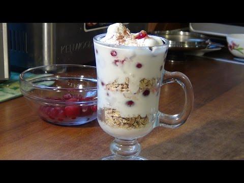 йогурт с хлопьями на диете