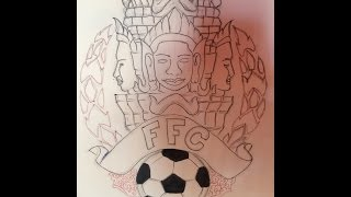 Bayon Art Darwing Video Time Lapse| Bayon Art Darwing VideosTimeLapse |Cambodia Football Club 2016