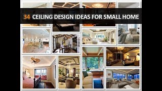 34 Stylish Ceiling Design Ideas for Small Modern Home - DecoNatic