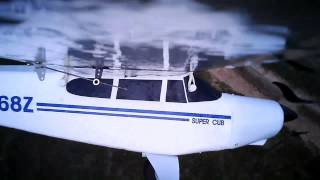 How to land an electric R/C airplane