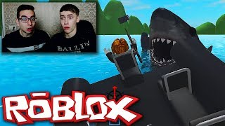 ROBLOX SHARK BITE MET DUTCHTUBER!
