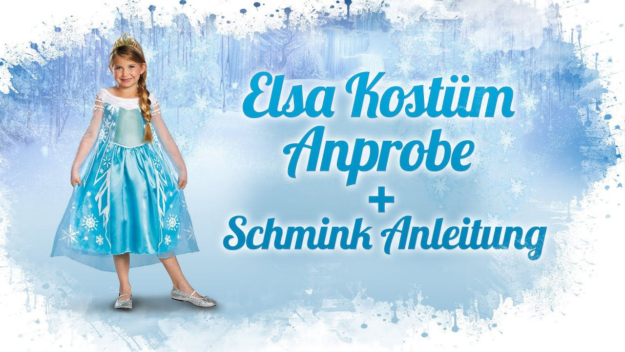 elsa kost m prestige anprobe und schmink anleitung die eisk nigin deutsch youtube. Black Bedroom Furniture Sets. Home Design Ideas