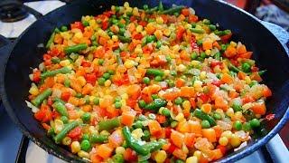 СУП из замороженных овощей Быстрый Рецепт