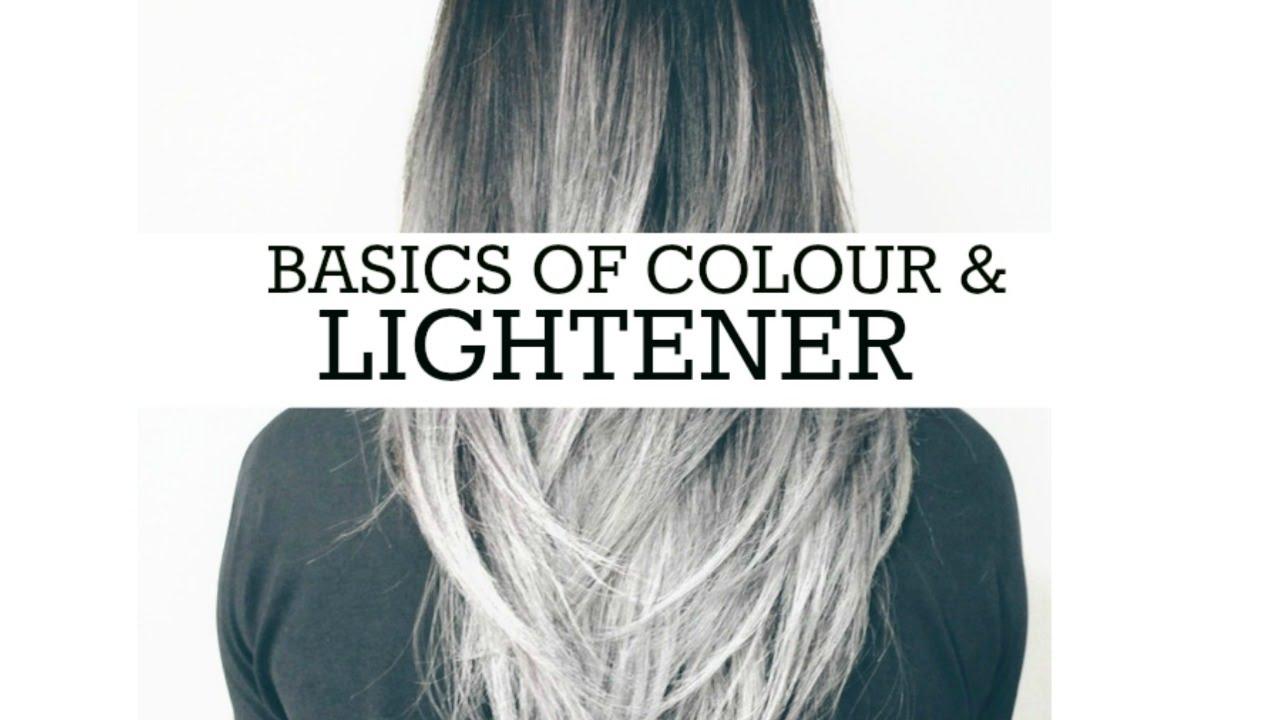 Hair Colour Education Basics Natural Colour Lightener Yellow