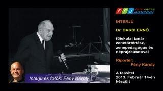 Interjú dr. Barsi Ernő néprajzkutató, zenetörténész és zenepedagógussal. Thumbnail