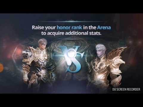 Lineage 2: Revolution - Blade dancer skills and arena