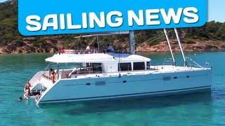 Discover the Lagoon 560, a luxurious cruising catamaran