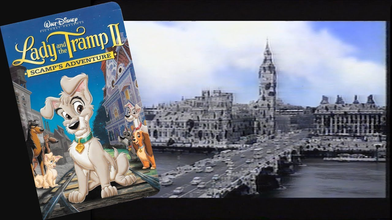Opening To Lady And The Tramp Ii Scamp S Adventure 2001 Vhs 60fps Youtube