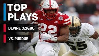 Top Plays: Devine Ozigbo vs. Purdue | Big Ten Football