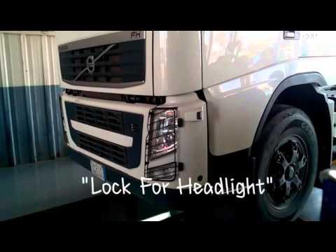Volvo Truck  U0026quot Lock For Headlight U0026quot