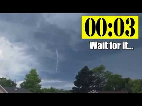 Seconds matter in a tornado warning