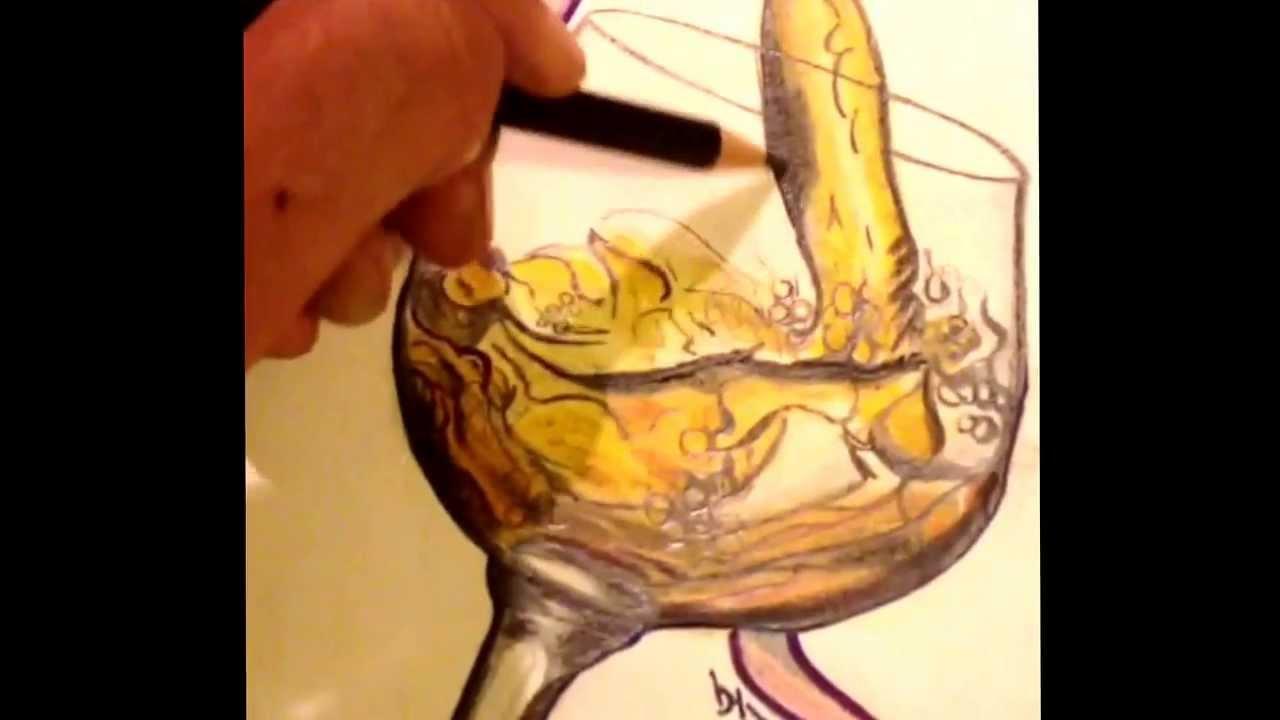 Dibujo Copa De Vino 2013