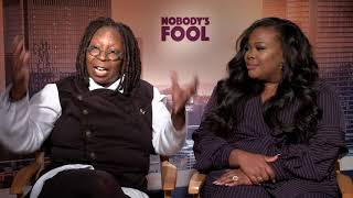 Nobody's Fool: Whoopi Goldberg & Amber Riley Official Movie Interview