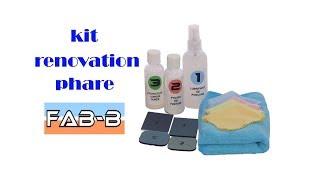 📢📢rénovation phare avec le kit Fab-B 🚨🚨