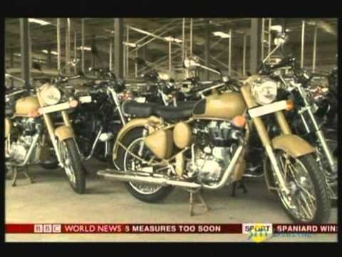 Royal Enfield's saga on India Business Report on BBC World
