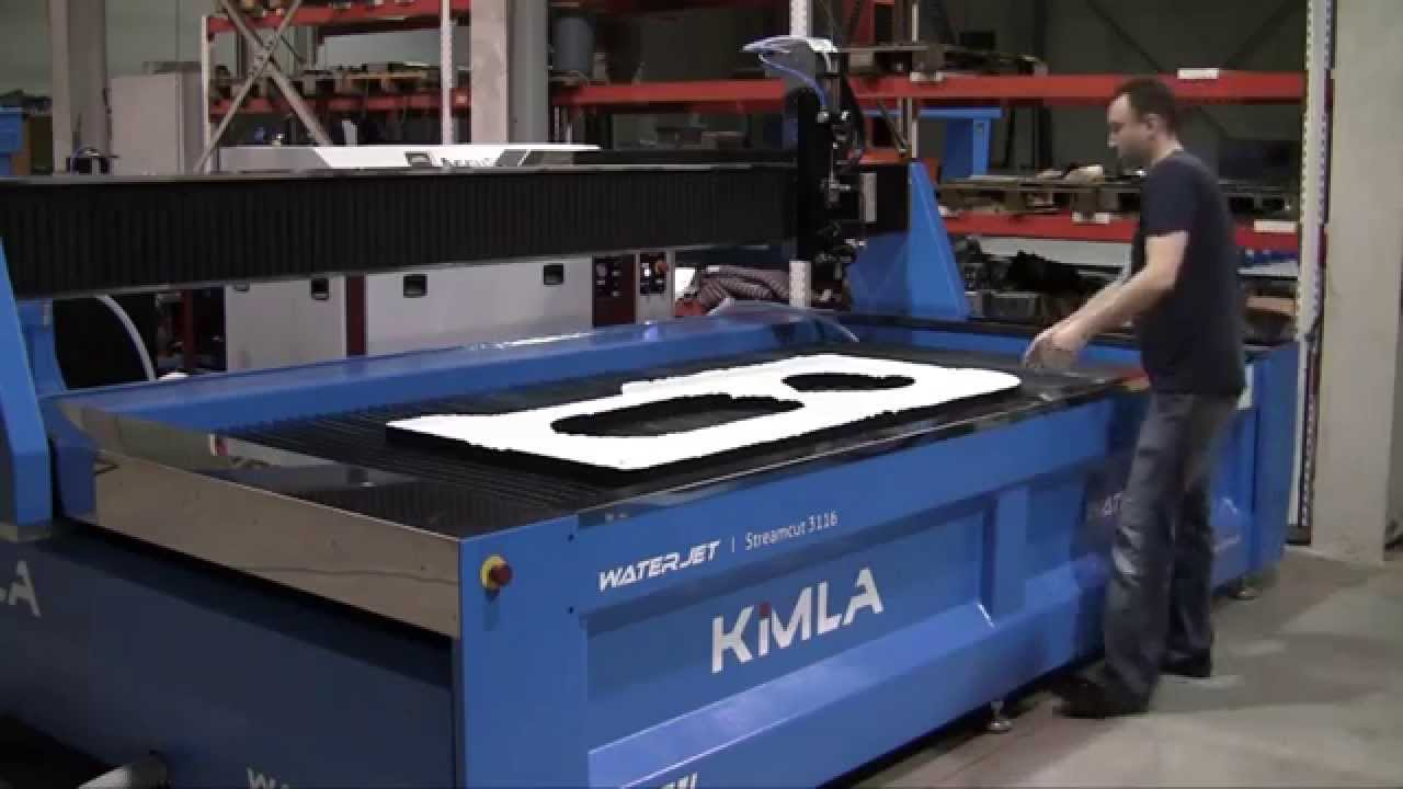 Kimla Streamcut 3116 3 Axis Waterjet Cnc Machine
