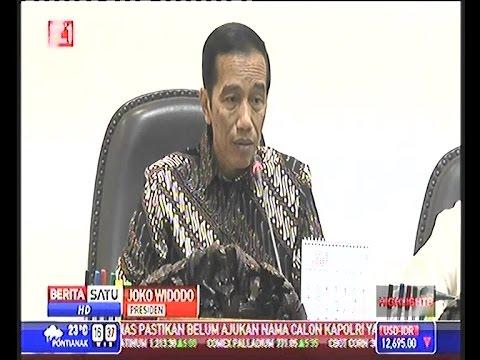 Presiden Jokowi_Biaya Logistik Indonesia Termahal Di Asean