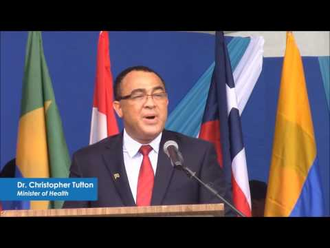 UN Jamaica: Health Minister Tufton welcomes PAHO Director to Jamaica. #SDG3