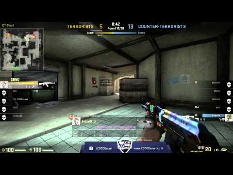 CSGOIsrael - daPoodles VS. OiU.il | גמר NightCup v12
