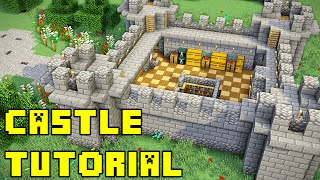 Minecraft: How to Build a Castle Xbox/PE/PC/PS3/PS4