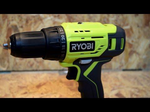 Review Taladro-Destornillador RYOBI P215K