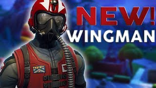 Slaying With New Wingman Starter Pack! - Fortnite Battle Royale - PS4