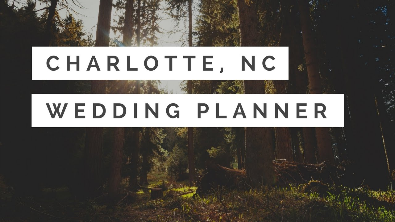 wedding planners charlotte nc