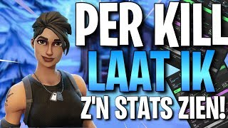 PER KILL I SHOW HIS STATS! (HACKER KILLED? & SOMEONE WITH 1000 WINS?)) -Fortnite