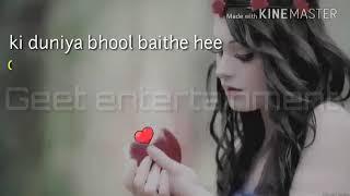 Humara hal na pucho ye duniya bhul baithe hai