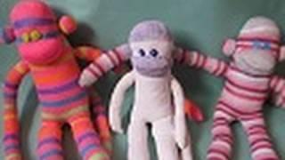 Monos hechos de Calcetines para el Día del Niño - floritere - 2011