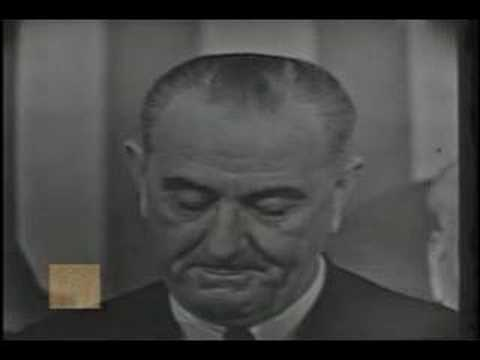 President Lyndon Johnson - Speech on Voting Rights