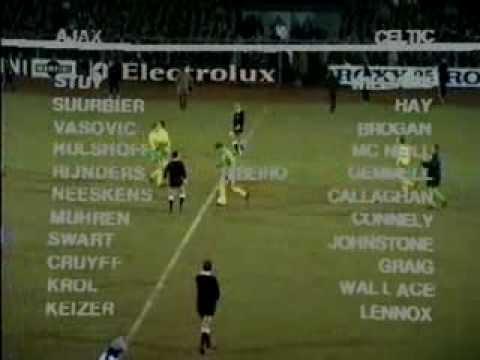 AFC Ajax (Amsterdam) - FC Celtic 1971-03-10 1/4 КЕЧ 1 матч.