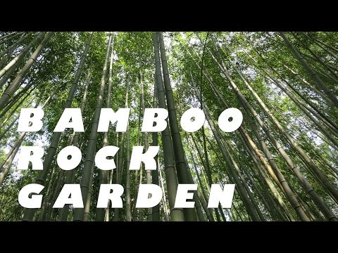 Taiwan Travel: Bamboo Rock Garden at Sun Moon Lake
