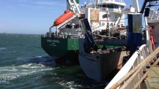 Ship collision 2014
