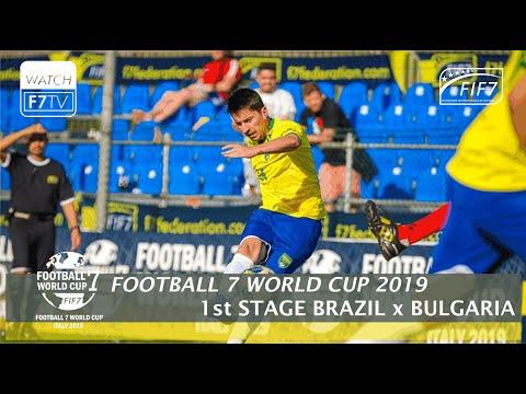 Brazil Vs Bulgaria - Football 7 World Cup 2019 - 1st Stage (Men)
