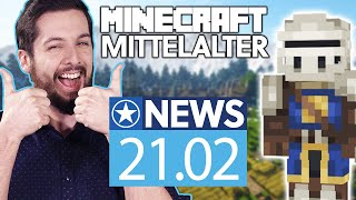 Riesiges MMORPG kostenlos in Minecraft - News