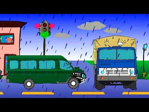 Мультфильм про зеленую газель
